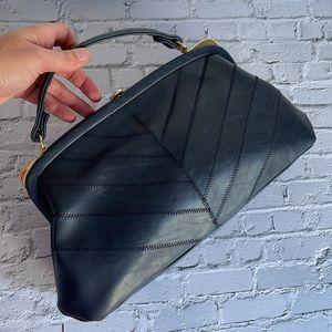 VINTAGE | Margaux Original navy handbag